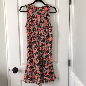 J.Crew sleeveless floral dress. New with tags!